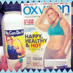 Now that's what I call #motivation  @oxygenmagazine #getitgirl #cardio #wecandoit