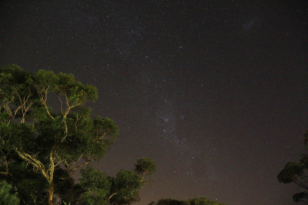 Starry sky in Murray Bridge