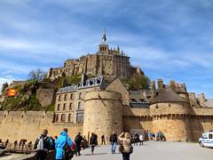 Front of Mount Saint Michel