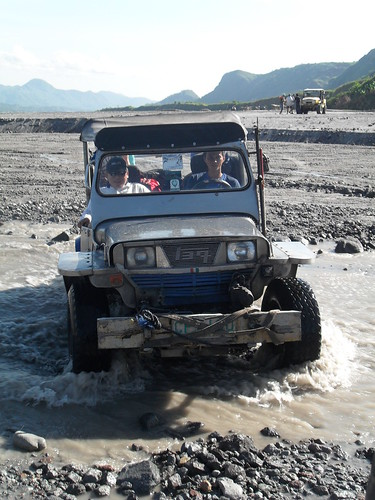 Although I would prefer a more gentle approach to Pinatubo, I recognize these are necessary in this terrain