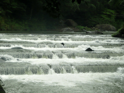 Terraced Falls in Fushan (福山)
