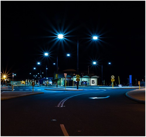 road b lines night canon lights letters 7d fremantle westernaustralia 1740 f4l