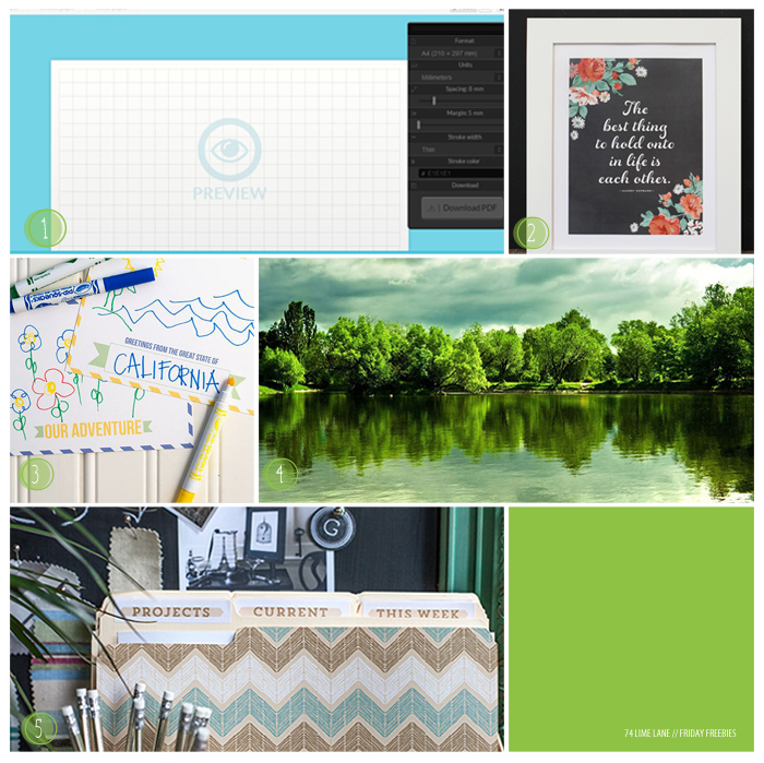 friday freebies // 22