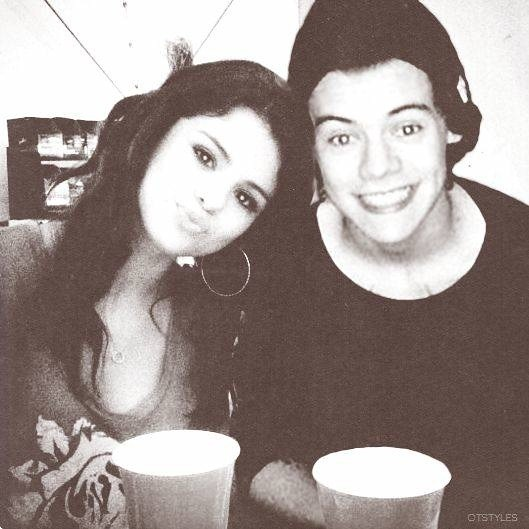 Selena Gomez and Harry Styles