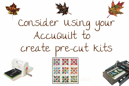 Accuquilt pre-cut ideas