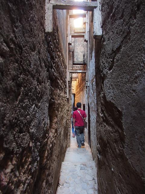 Fes古城的街道