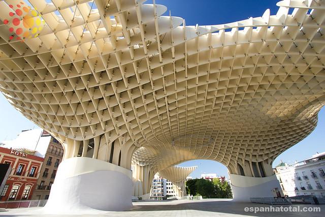 atrações imperdíveis de Sevilha: Las Setas