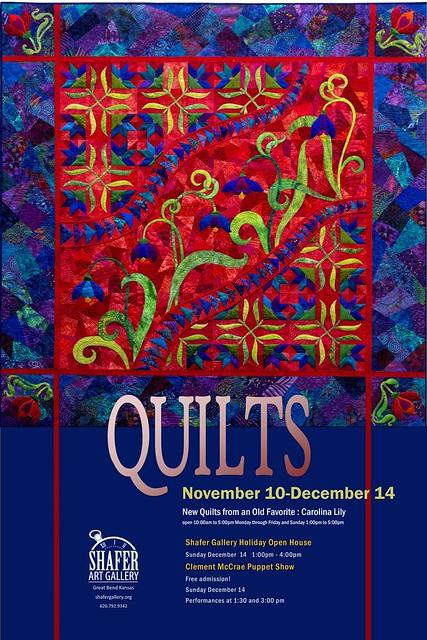 Carolina Lily National Quilt Show