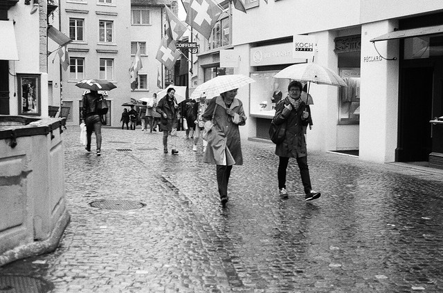 Zürich - Ilford HP5+ film