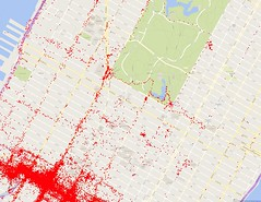 Sep 2014 - Sep 2016 Google Location History (Midtown North)