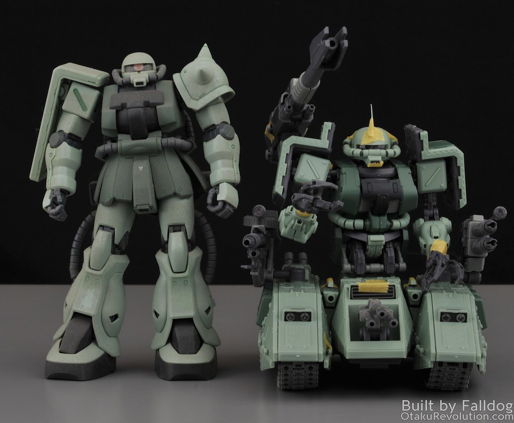 Motor King - 1-100 Zaku Tank Review 4