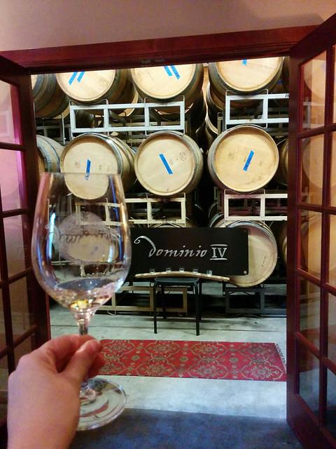wine tasting @ Dominio IV