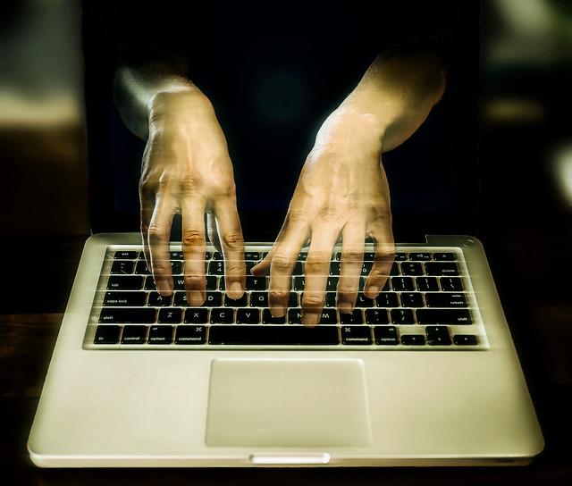 Computer Data Hacker