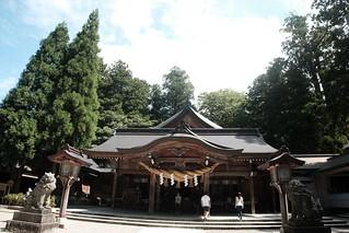 白山比咩神社。