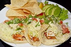 3 Blackened Mahi Tacos