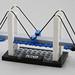LEGO Suspension Bridge by AzureBrick