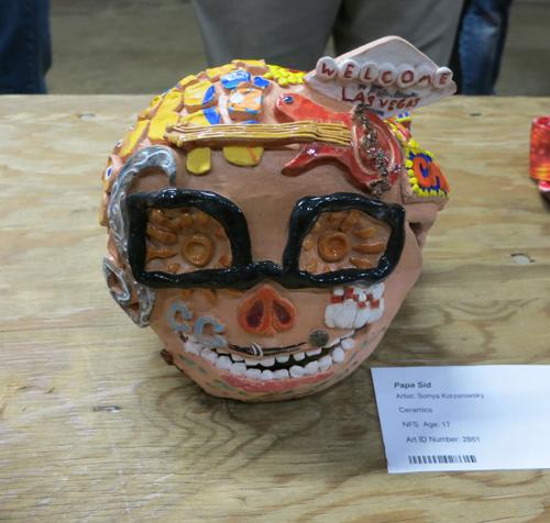 AAN2013 Papa Sid by Sonya Age 17 Ceramics