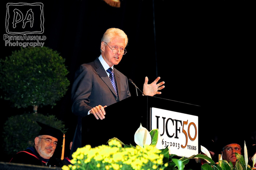 Bill Clinton Speaks at UCF's Graduation