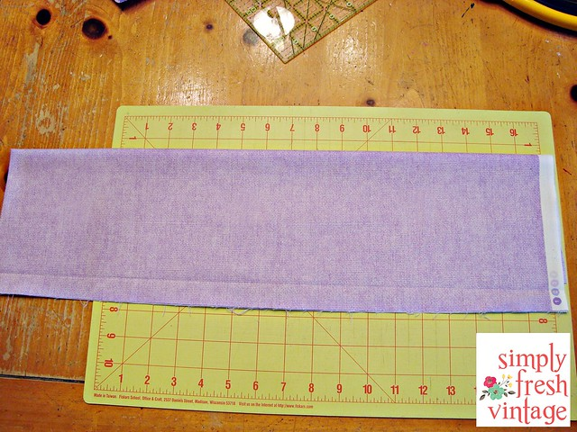 Quick & Easy Bunting ... Fabric Preparation