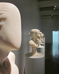 carving(1.0), art(1.0), classical sculpture(1.0), white(1.0), sculpture(1.0), bust(1.0), head(1.0), mannequin(1.0), statue(1.0),