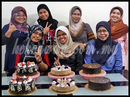 BAKE & DECO CLASS: All Chocolate Cakes ~ 30 March 2013