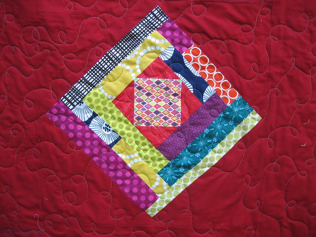 Llamas in Log Cabins Quilt | Lucymade