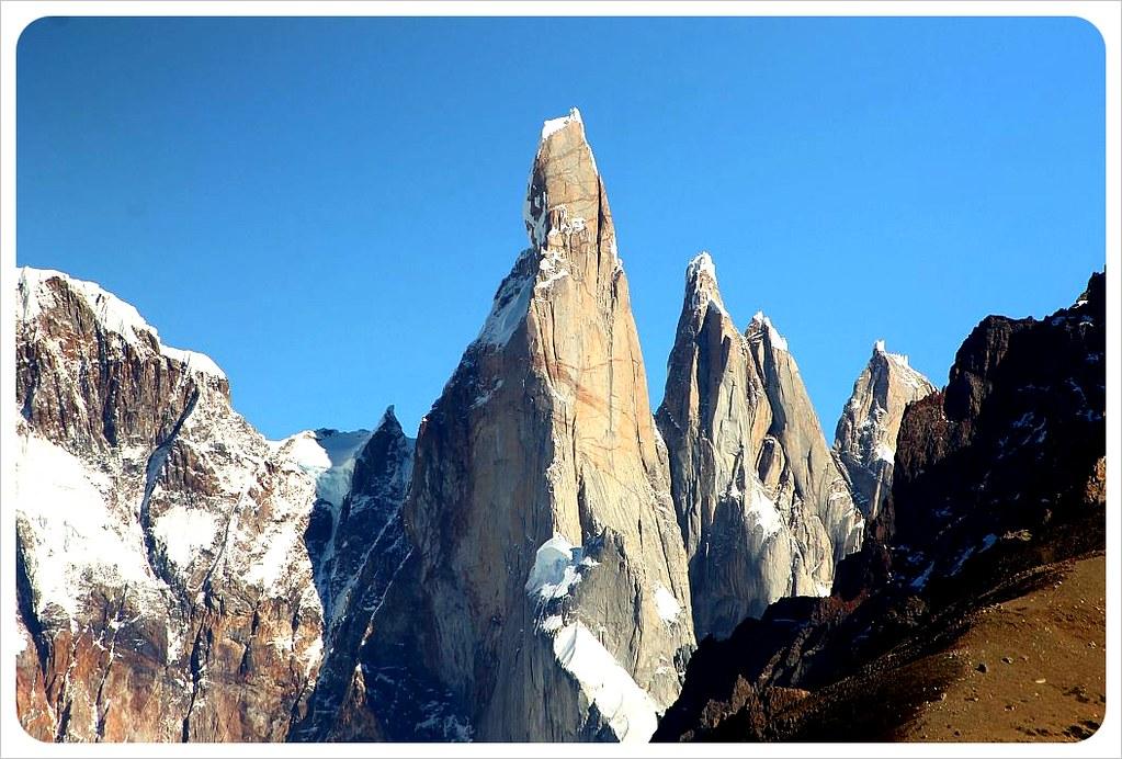 chalten mountain peaks