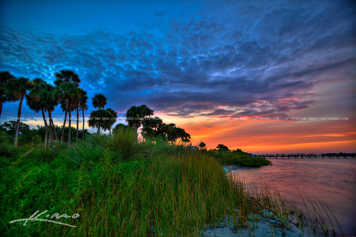 Sunset-at-Riverview-Park-Sebastian-Florida