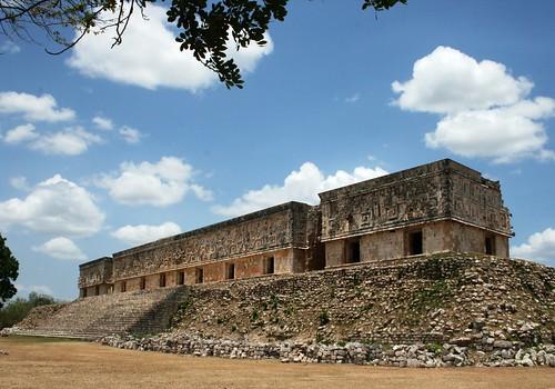 Uxmal: le palais du gouverneur