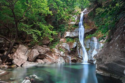 trees green nature water pool landscape canyon greece filter waterfalls nd gorge polarizer nero larissa ef2470mmf28lusm cpl 6d kokkino kataraktes stomio