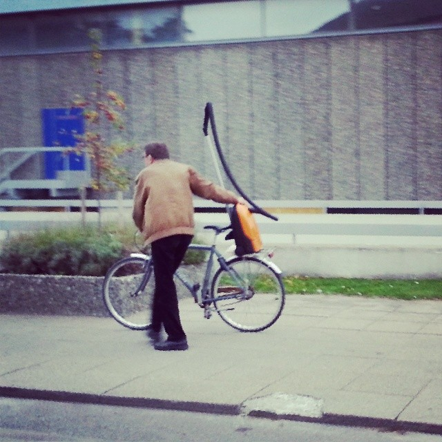 We don't have bicycle culture in #copenhagen. We have vacuum cleaner culture