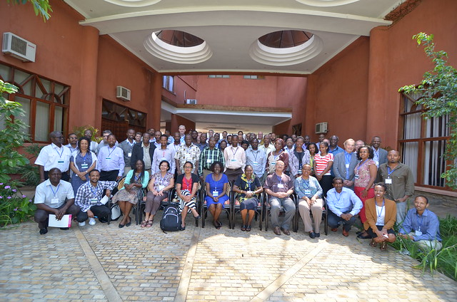 Participants - Africa RISING learning event 2014 (Photo credit: IITA/Jeffrey Oliver)
