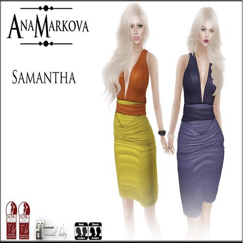 { AnaMarkova } Samantha
