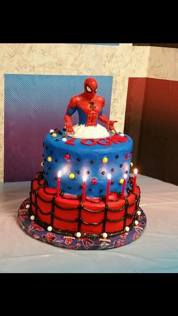 Spiderman Cake by Callie Rush