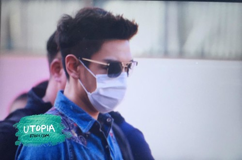 Big Bang - Gimpo Airport - 20may2015 - TOP - Utopia - 02