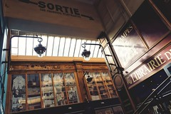 Lumière passagère Passage Jouffroy, Paris 9e