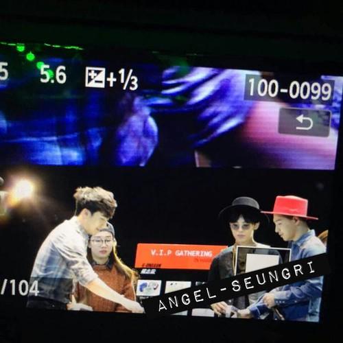 Seung Ri - V.I.P GATHERING in Harbin - 21mar2015 - Angel-Seungri - 03
