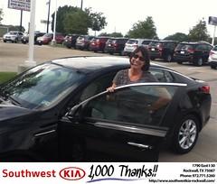 #HappyBirthday to Pamela from DON REED at Southwest KIA Rockwall!