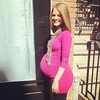 Post brunching with @thesocialyogi! 37 weeks and oh so ready... :basketball: