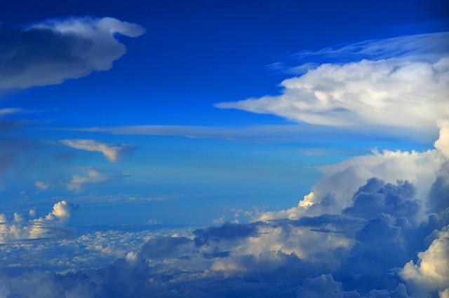 China - Between Thunderstorms, above Jiangsu