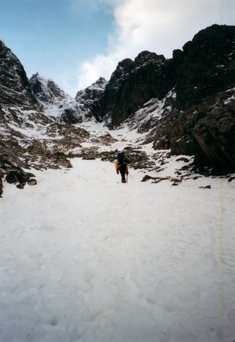 The Approach to Tower Gulley, Ben Nevis