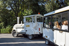 Shuttle transport, Gardens of the Pontifical Villas, Castel Gandolfo