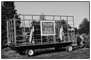 Trump Sign Stolen | by rkwallen