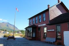 Carcross Railroad Station