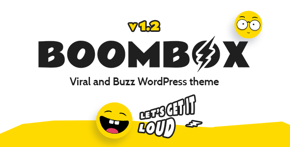 BoomBox v1.2.6 - Viral & Buzz WordPress Theme