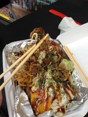 "Okonomiyaki (お好み焼き, o-konomi-yaki) – Japanese savory ""pizza pancake"""