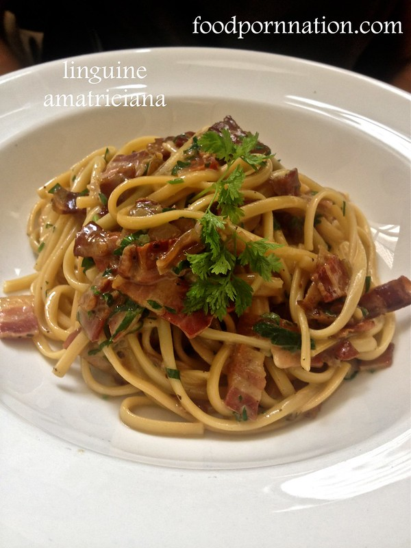 linguine amatriciana
