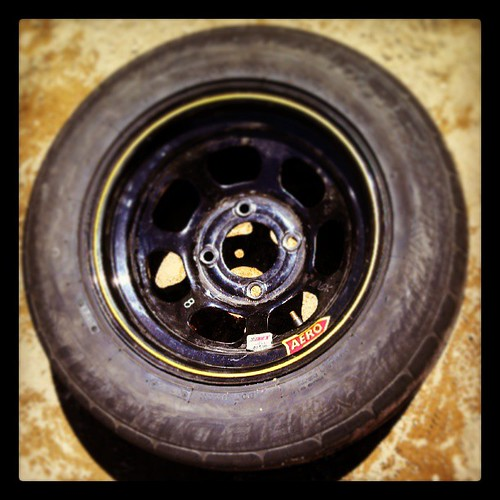 Got tire? #racecar #8 #uslegends #legends #aero #inex