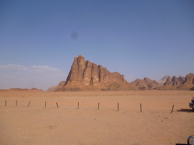 Seven Pillars of Wisdom at Wadi Rum