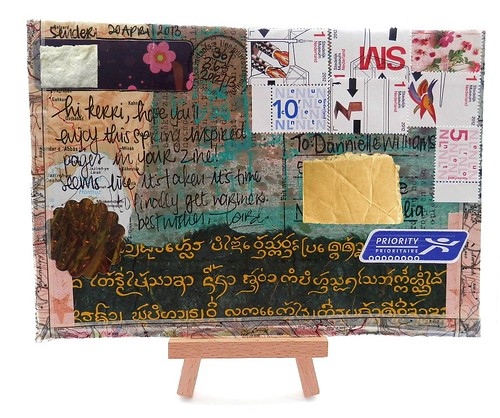 Mail Art 365-361 front by Miss Thundercat